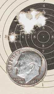TX 200 Mark III 25-yard target second group