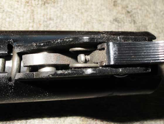 BSA Super Meteor trigger adjustment screw