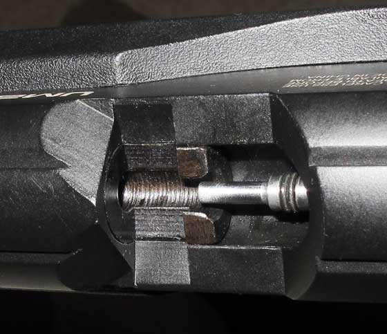 Umarex Fusion rifle pellet tray