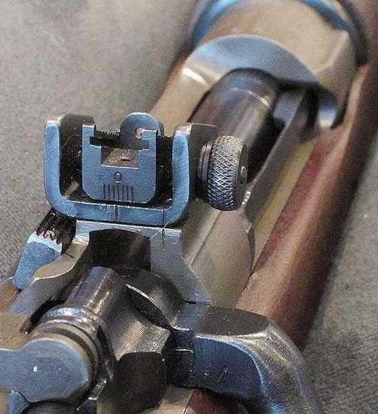O3A3 rear sight