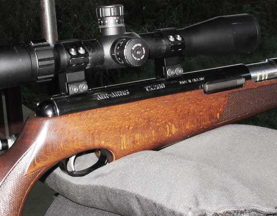 TX 200 Mark III rested sideways