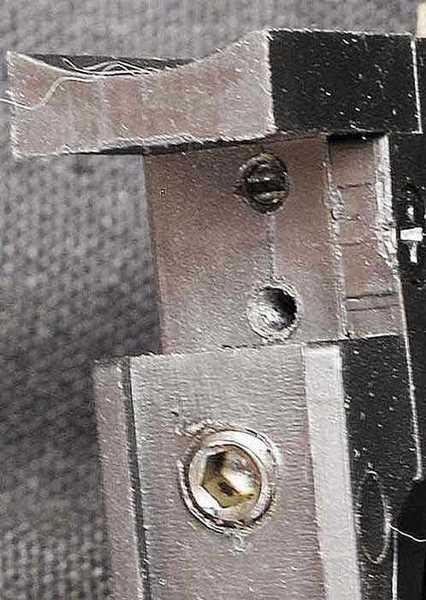 Umarex Fusion rifle trigger sear adjustment