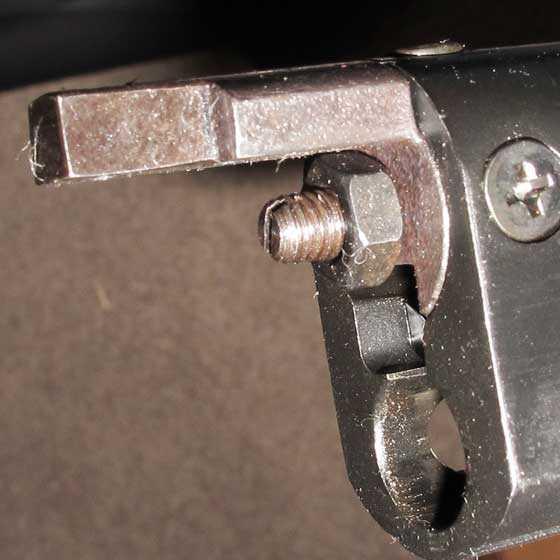 Umarex Fusion rifle power adjustment