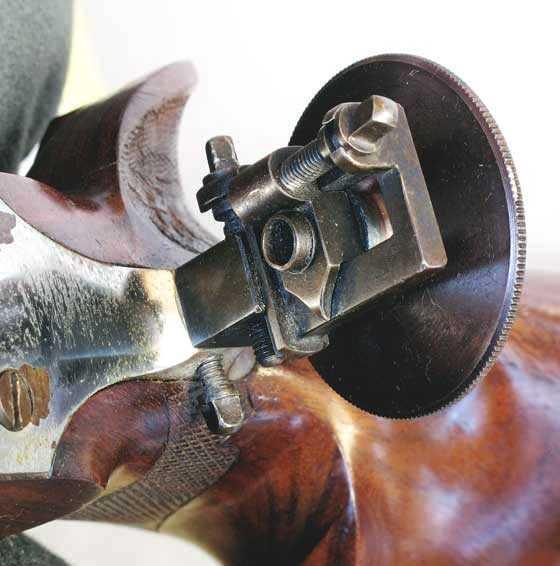 Bugelspanner rear peep sight
