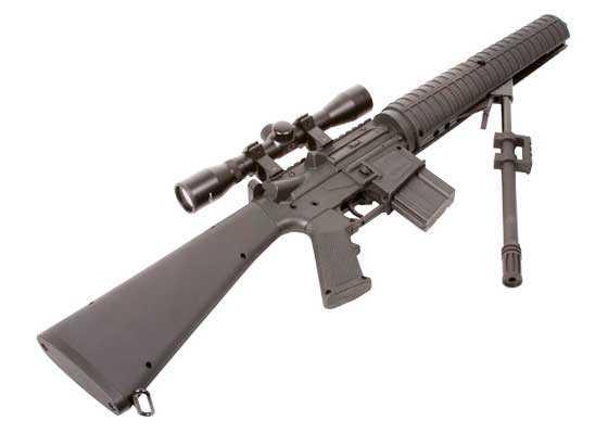 Crosman MTR77NP scoped air rifle barrel broken