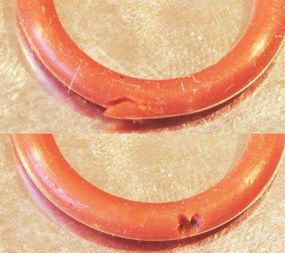 Umarex Fusion rifle damaged o-ring