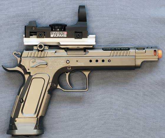 Tanfoglio Gold Custom Eric Grauffel airsoft pistol