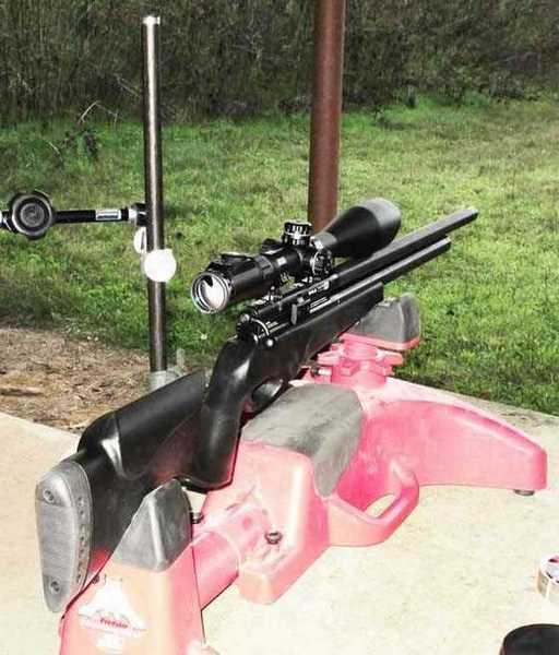 BSA Scorpion 1200 SE PCP air rifle scoped