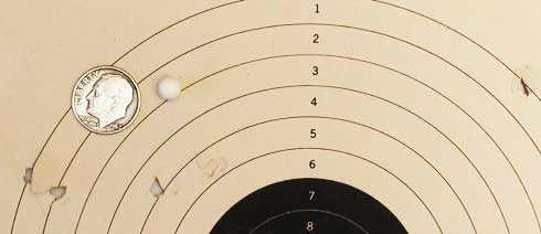 Tanfoglio Gold Custom Eric Grauffel airsoft pistol TSD-Stealth-0.20-gram BB target 10 meters