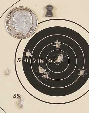 TX 200 Mark III new rifle 50-yard target HN Baracuda Match