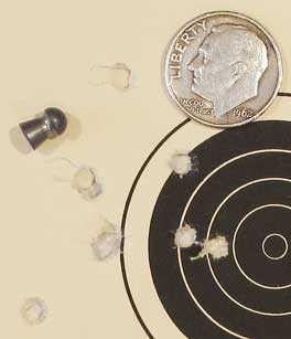 TX-200 Mark III new rifle 50 yard target Crosman Premier heavy group 5