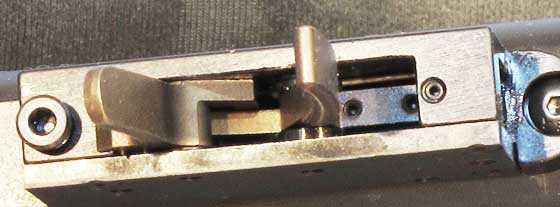 Benjamin Marauder synthetic stock trigger adjustment screws