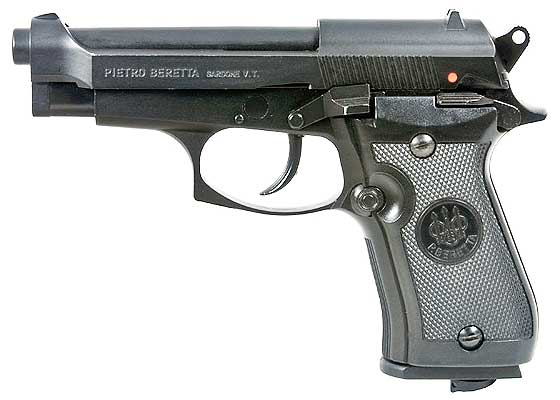 Beretta model 84 FS BB pistol left