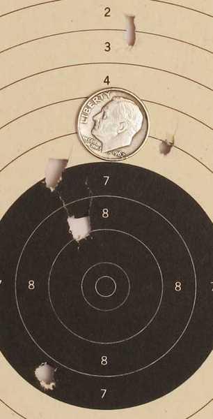 Tanfoglio Gold Custom Eric Grauffel airsoft pistol Air Venturi CQBB target 1