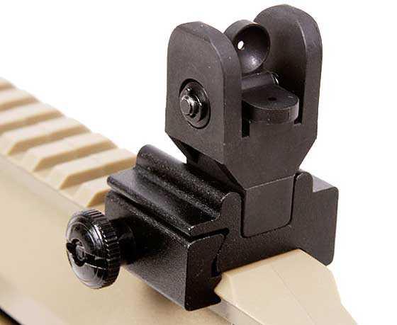Crosman MK 177 multi pump pneumatic rear sight