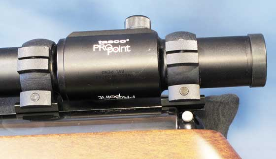 TX 200 Mark III new rifle mount slippage