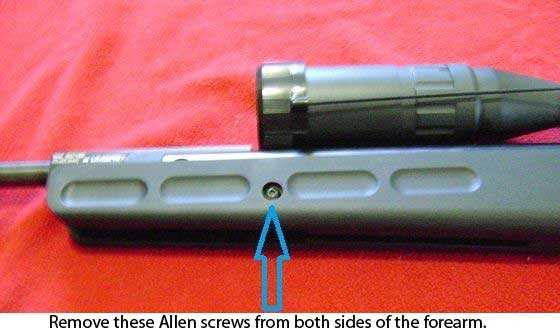 Octane combo forearm screws