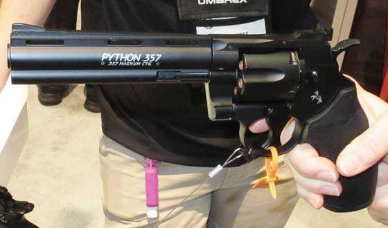 Umarex Colt Python CO2 BB revolver