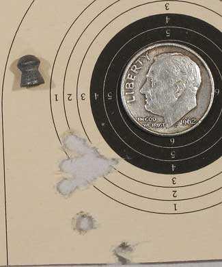 Falke 70 Wasp target