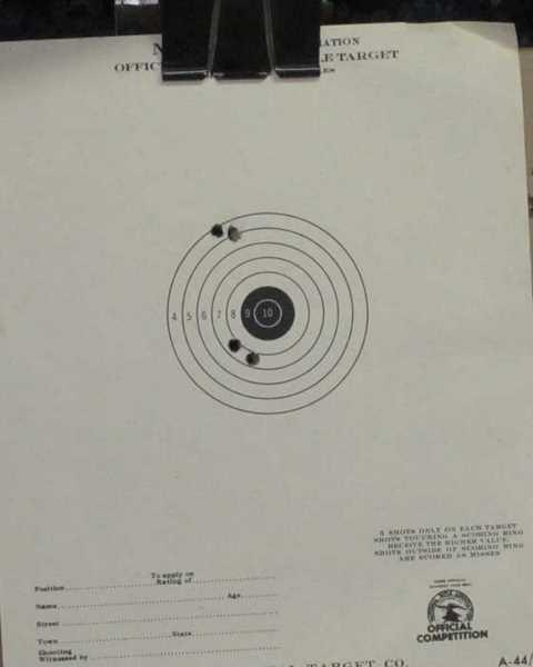 Meteor crown proof target