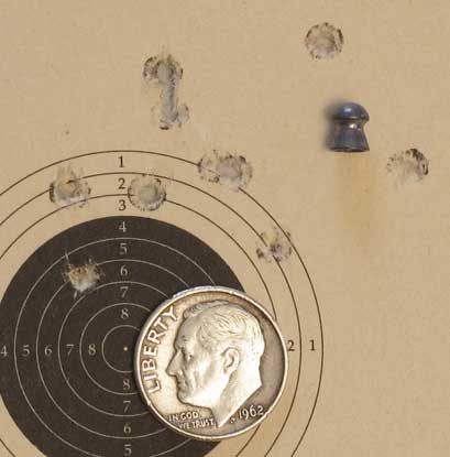Meteor crown proof Premier lite target