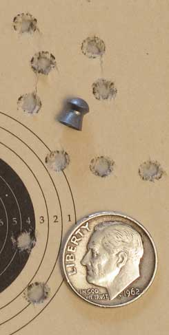 Meteor crown proof Falcon target