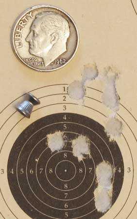 Meteor crown proof Hobby target