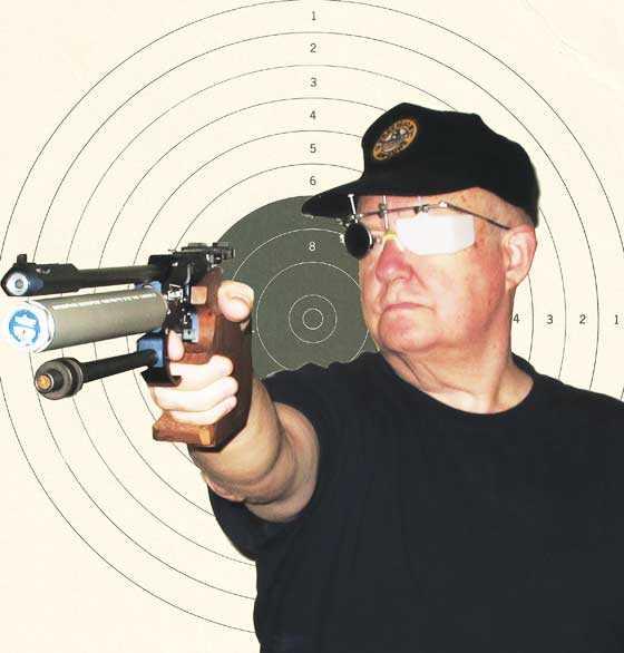 10-meter pistol