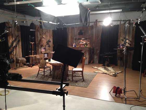 American Airgunner studio