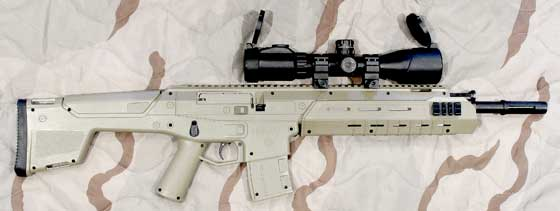 UTG 2-7X44 Scout SWAT scope on MK 177