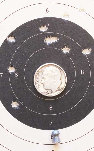 $100 PCP 25 yards Crosman Premier heavy