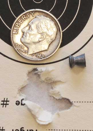 UTG 2-7X44 Scout SWAT scope H&N Finale Match pistol group