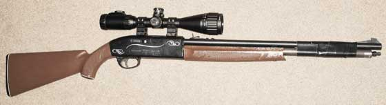 UTG 3-9X40 scope