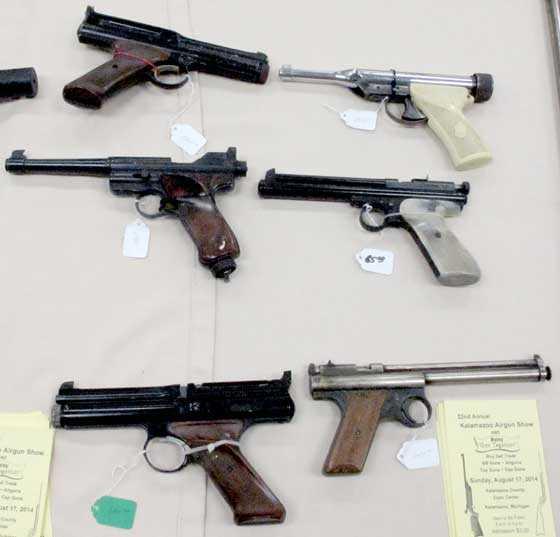 vintage pellet pistols