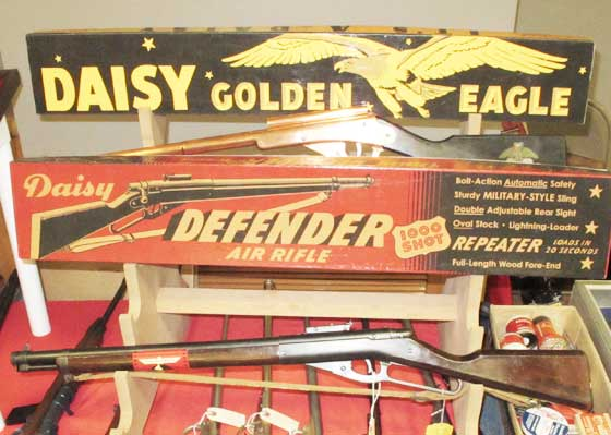 Daisy Defender display