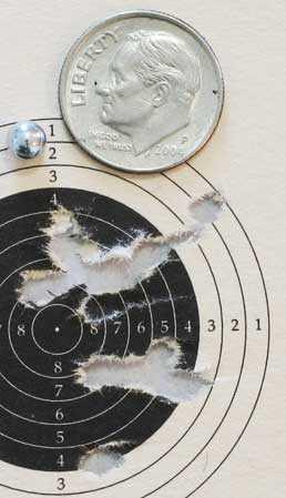 Colt Python target 2