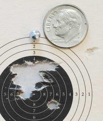 Colt Python target 3