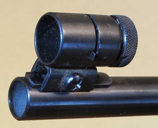 Diana 72 target rifle muzzle