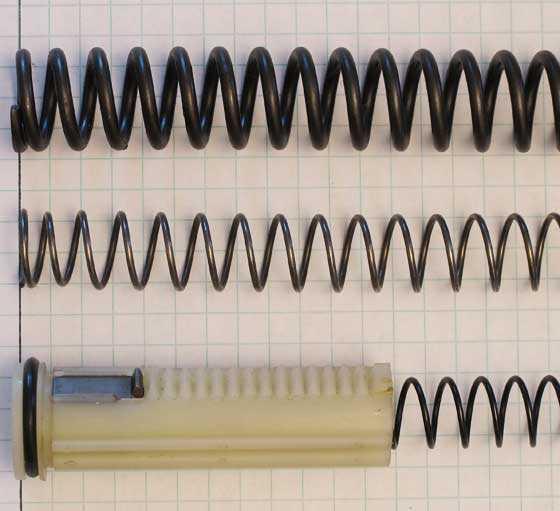 Compare springs