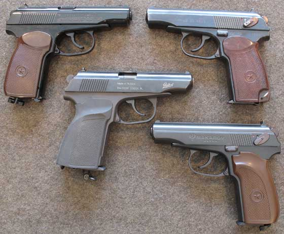 Umarex Legends Makarov Ultra BB pistol Four Makarovs