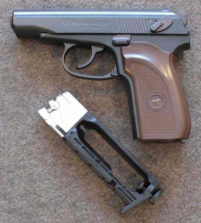 Umarex Legends Makarov Ultra BB pistol Mak and magazine