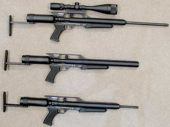 EscapeSS three rifles