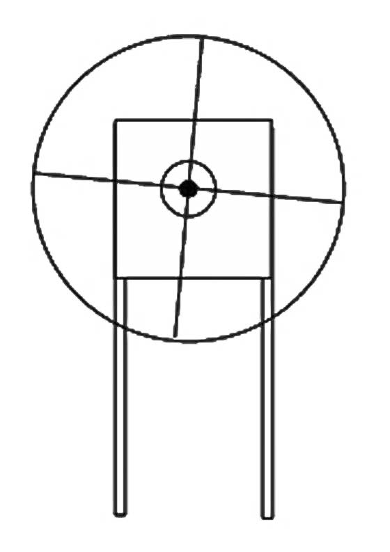 canted reticle