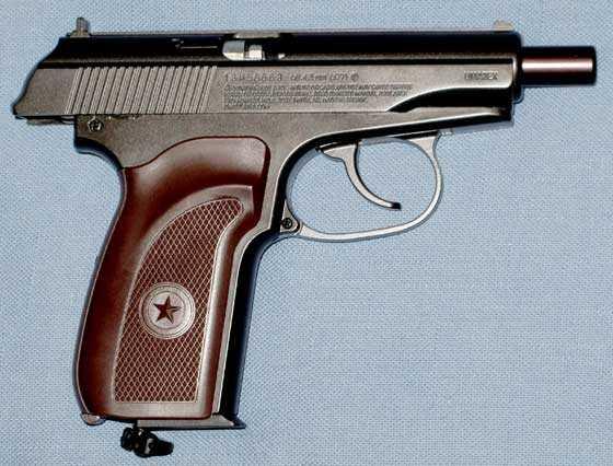 Umarex Legends Makarov Ultra BB pistol slide back