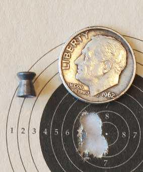 H&N Finale Match Pistol target 1
