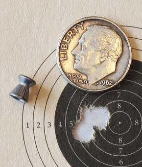 RWS Hobby target