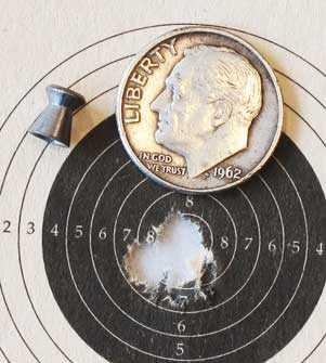 H&N Match Pistol target 1