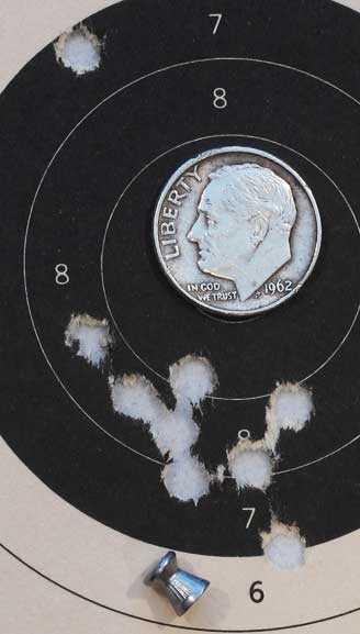 Daisy 880 RWS Hobby target