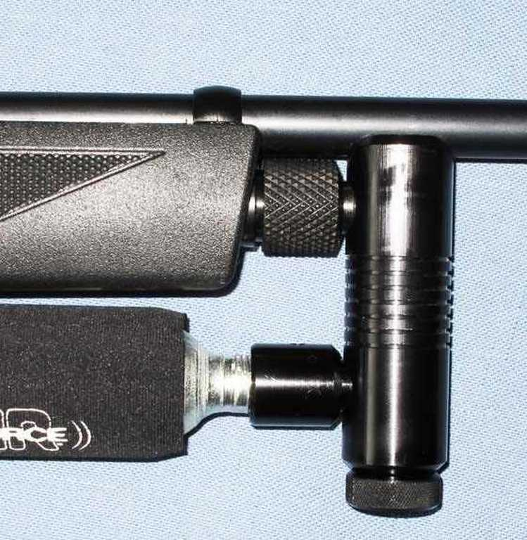 Crosman 1077 gas system detail