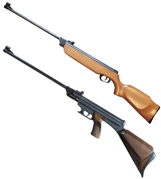 El Gamo 300 two rifles